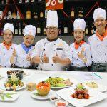 Lớp nấu ăn gia đình tại HNAAU