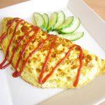 Trứng cuộn nấm thịt