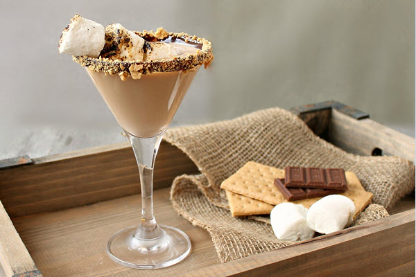 Cocktail S'mores Martini