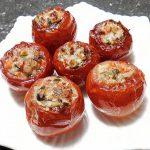 Món cà chua nhồi thịt
